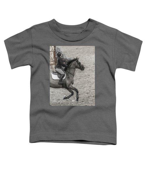 Show Jumping Teamwork Toddler T-Shirt