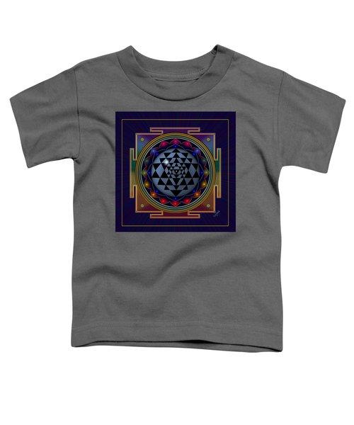 Shri Yantra Toddler T-Shirt
