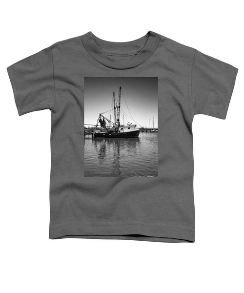 Shrimp Boat Toddler T-Shirt