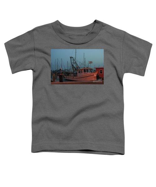 Shrimp Boat Toddler T-Shirt