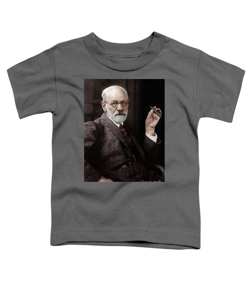 Sigmund Freud Austrian Neurologist And Psychoanalyst In 1926 Toddler T-Shirt
