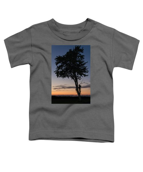 Silhouetted Tree Toddler T-Shirt