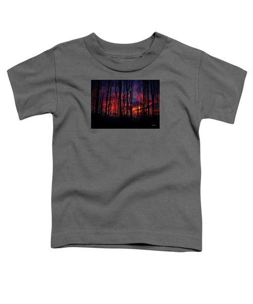 Silhouettes At Sunset Toddler T-Shirt