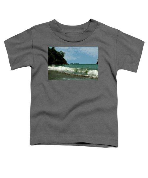 Simple Costa Rica Beach Toddler T-Shirt