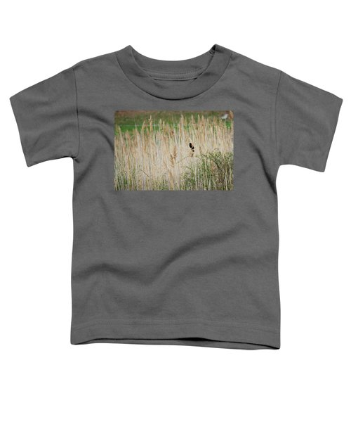 Toddler T-Shirt featuring the photograph Sing For Spring by Bill Wakeley