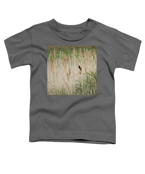 Toddler T-Shirt featuring the photograph Sing For Spring Square by Bill Wakeley