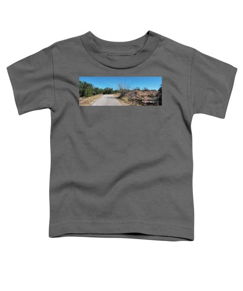 Single Lane Road In The Hill Country Toddler T-Shirt