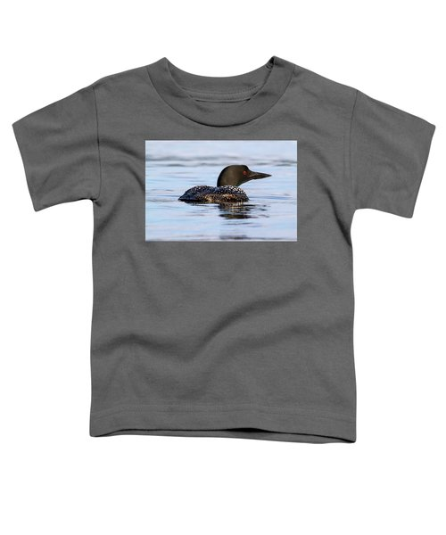 Single Loon Toddler T-Shirt