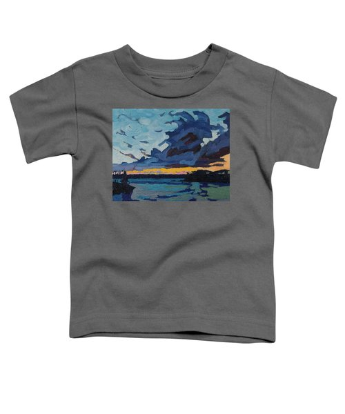 Singleton Sunset Stratocumulus Toddler T-Shirt