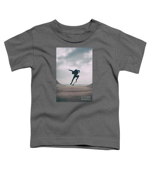Skater Boy 004 Toddler T-Shirt