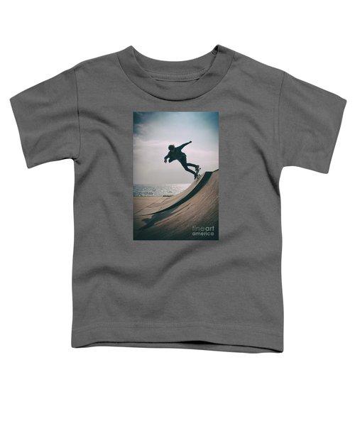 Skater Boy 007 Toddler T-Shirt