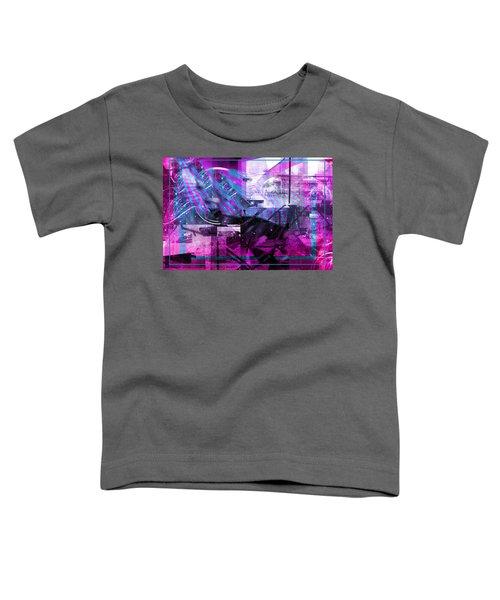 Sketching Flying Stars.. Toddler T-Shirt