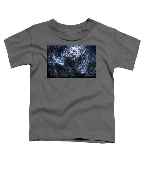 Skulls Tangled In Fear Toddler T-Shirt