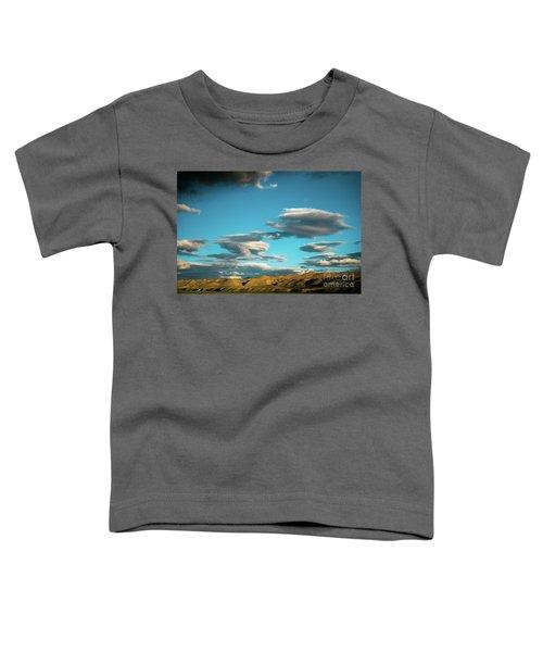Sky And Clouds Garuda Valley Tibet Yantra.lv Toddler T-Shirt