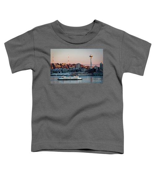 Space Needle.seattle,washington Toddler T-Shirt