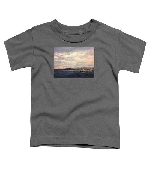 The Port Of Everett From Howarth Park Toddler T-Shirt