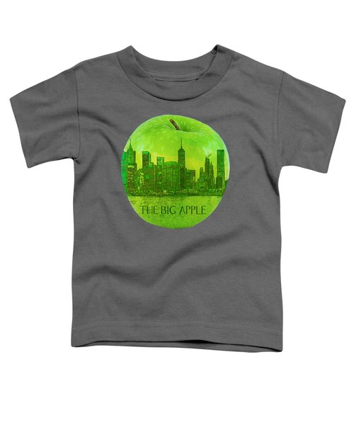 Skyline Of The Big Apple, New York City, United States Toddler T-Shirt
