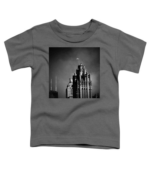 Skyscrapers Then And Now Toddler T-Shirt
