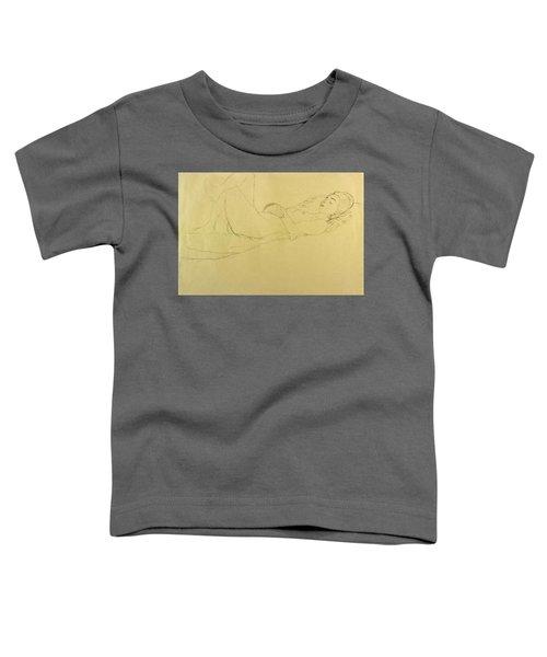 Sleeping Girl Toddler T-Shirt