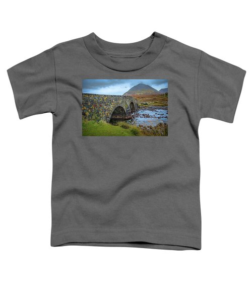 Sligachan Bridge View #h4 Toddler T-Shirt