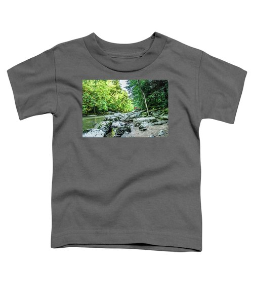 Slippery Rock Gorge - 1905 Toddler T-Shirt