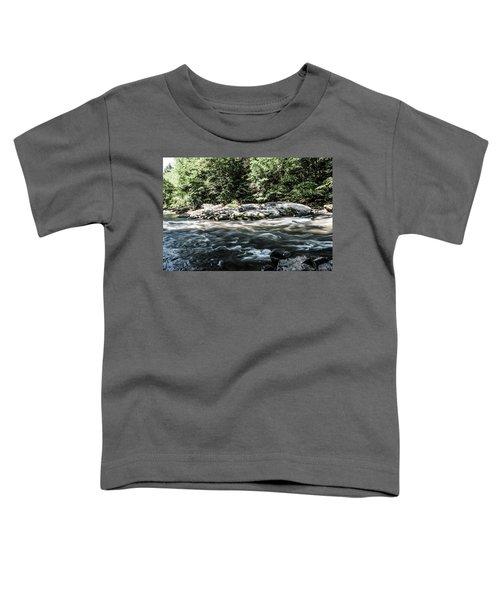 Slippery Rock Gorge - 1943 Toddler T-Shirt