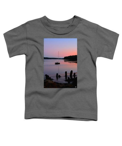 Sloop Sunset Toddler T-Shirt