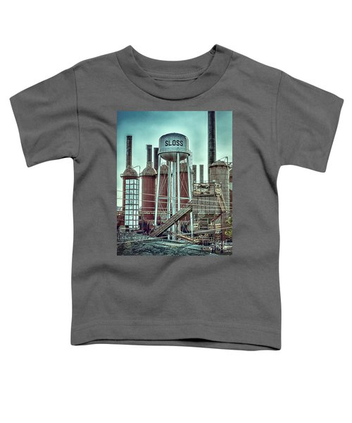 Sloss Furnaces Tower 3 Toddler T-Shirt