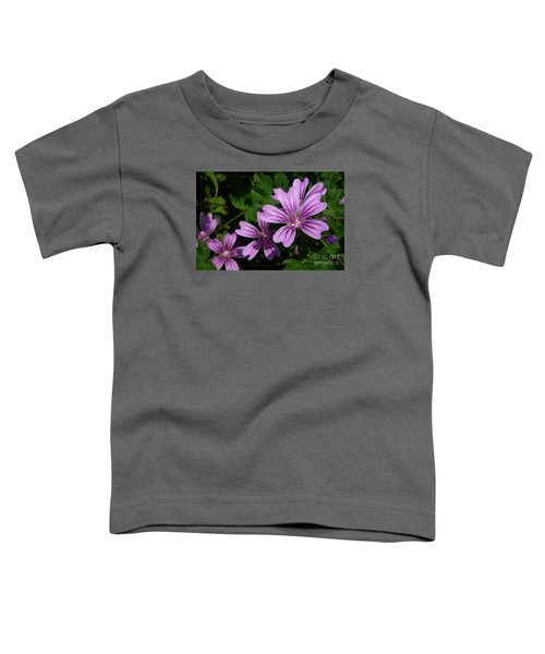 Small Mauve Flowers 6 Toddler T-Shirt