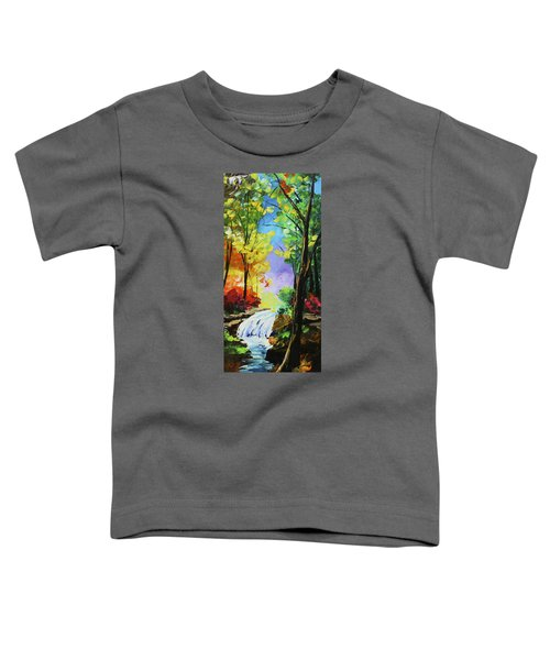 Small Waterfall Toddler T-Shirt