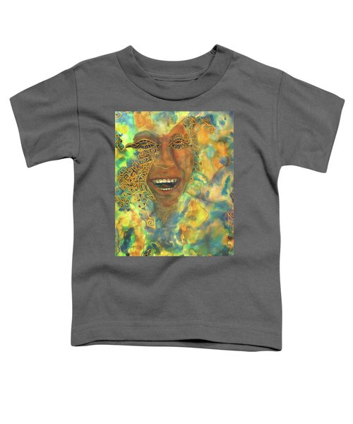Smiling Muse No. 3 Toddler T-Shirt