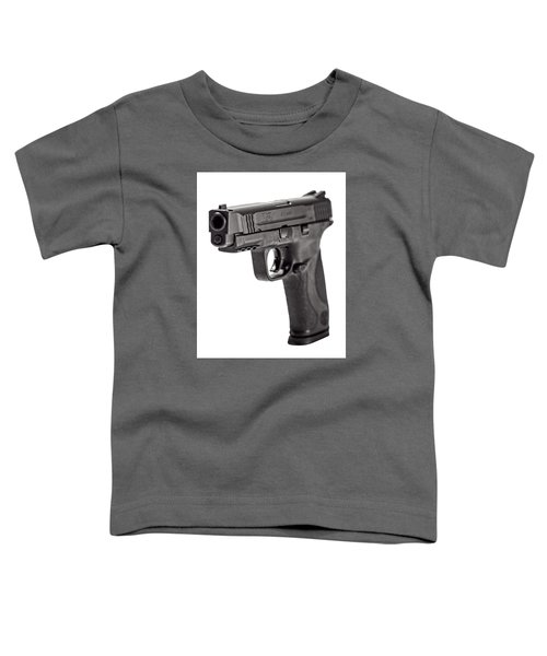 Smith And Wesson Handgun Toddler T-Shirt