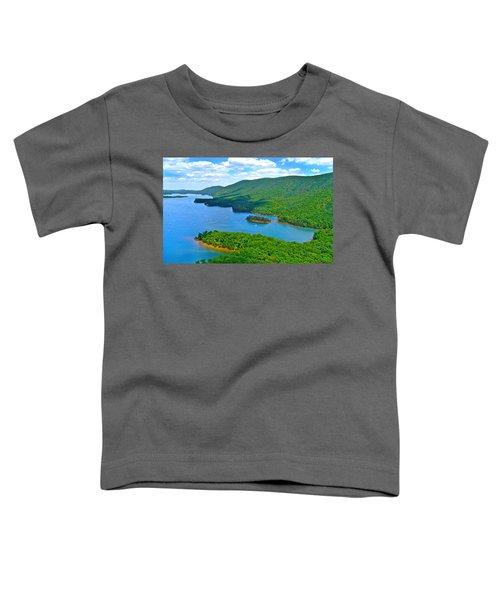 Smith Mountain Lake Poker Run Toddler T-Shirt