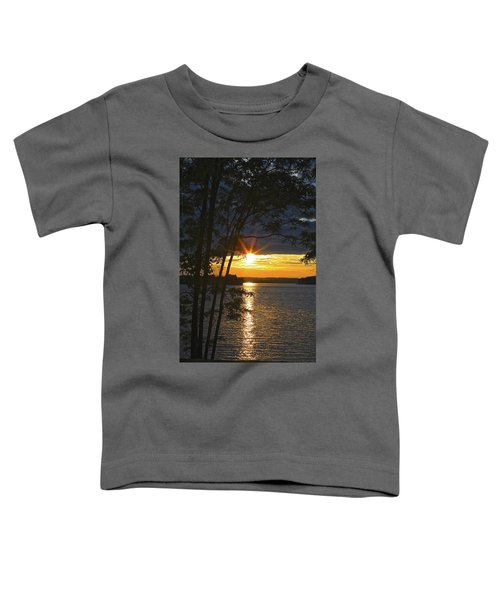 Smith Mountain Lake Summer Sunet Toddler T-Shirt