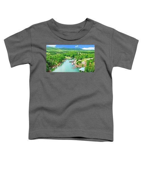 Smith Mountain Lake, Virginia. Toddler T-Shirt