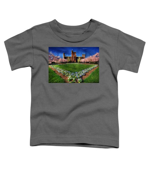 Spring Blooms In The Smithsonian Castle Garden Toddler T-Shirt
