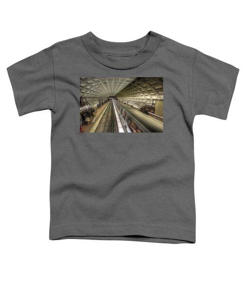 Smithsonian Metro Station Toddler T-Shirt