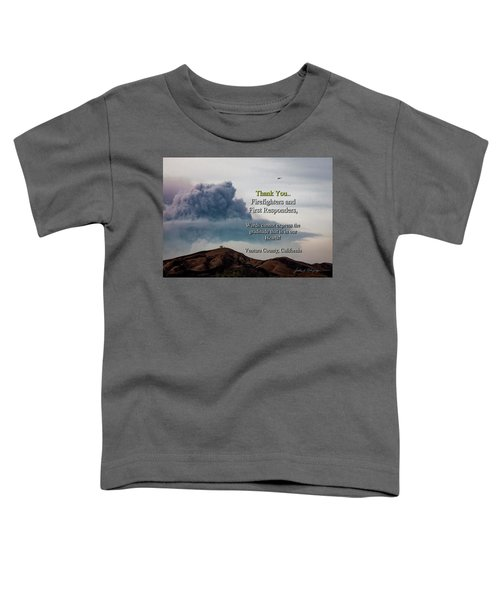 Smoke Cloud Over Two Trees Toddler T-Shirt