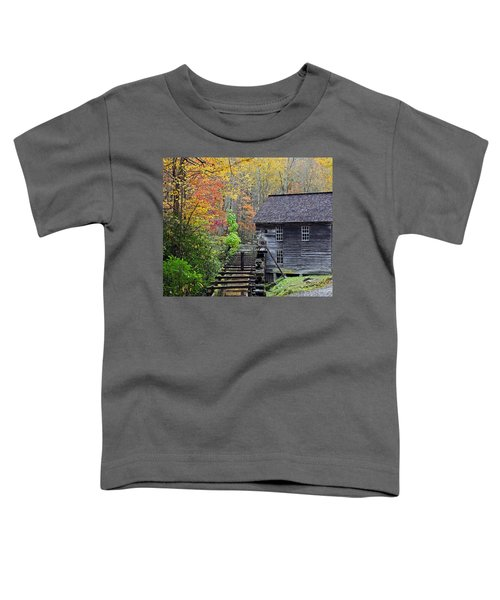 Smokey Mountain Grist Mill Toddler T-Shirt