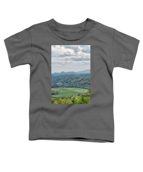 Smoky Mountain Scenic View Toddler T-Shirt