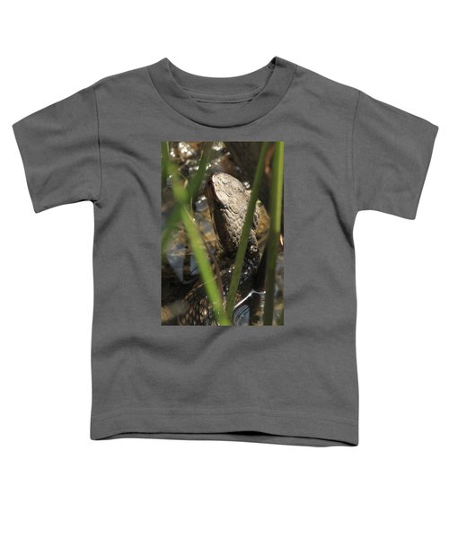 Snake In The Water Toddler T-Shirt