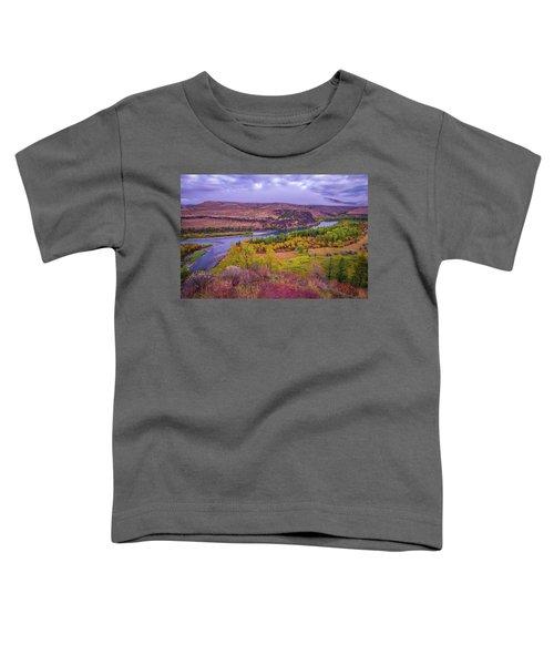 Snake River Fall Beauty  Toddler T-Shirt