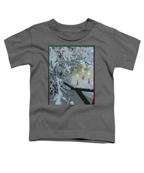 Snow And Candlelight Toddler T-Shirt