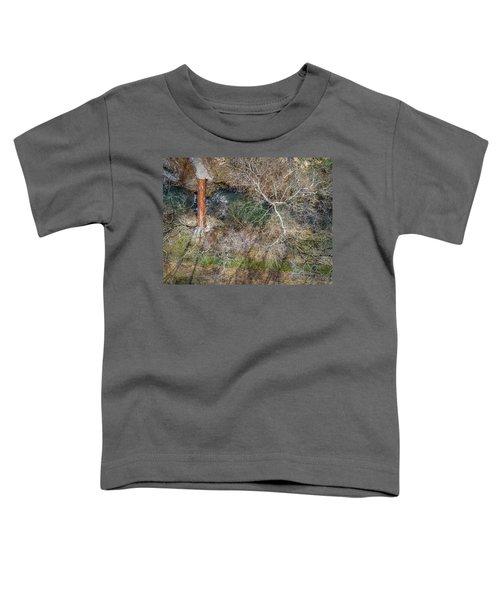 Snow Around The Creek Toddler T-Shirt