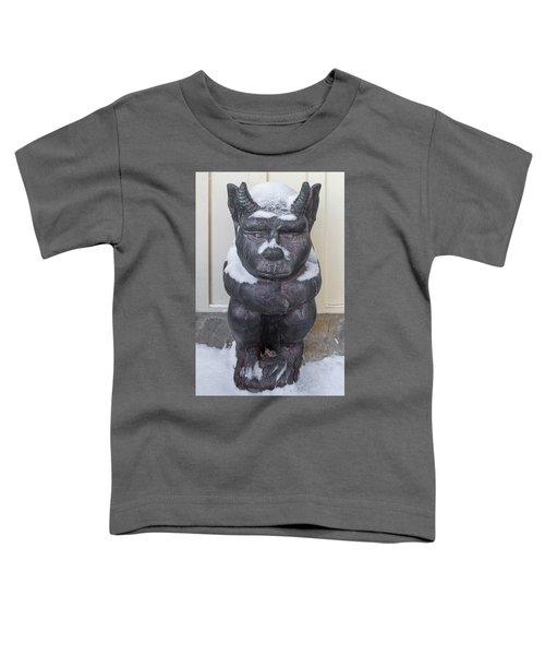 Snow Covered Chimera Toddler T-Shirt