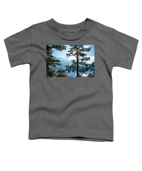 Snow-covered Trees Toddler T-Shirt