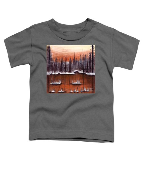 Snow Glow  Toddler T-Shirt