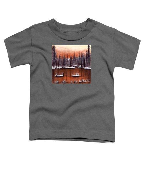 Snow Glow  Toddler T-Shirt