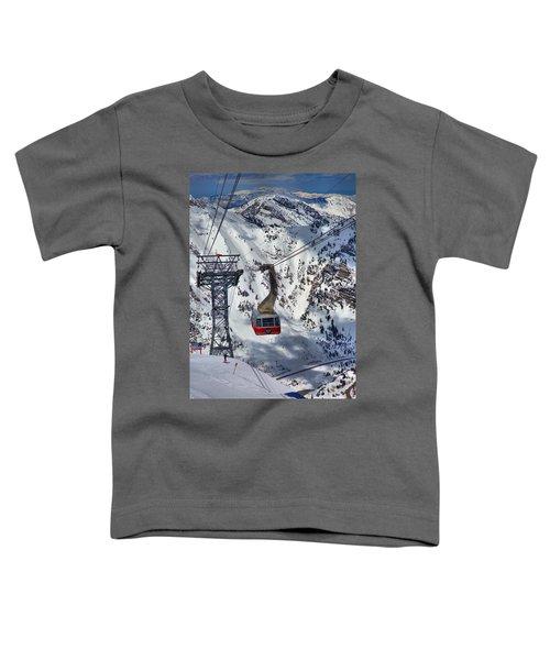 Snowbird Tram Portrait Toddler T-Shirt