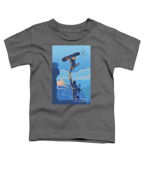 Snowboard High Five Toddler T-Shirt